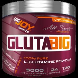 Bigjoy Glutamine 120 Gr Aromasız