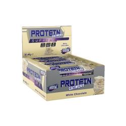 Muscle Station Crunchy Supreme Protein Bar Beyaz Çikolata 24 Adet