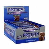 Muscle Station Crunchy Supreme Protein Bar Milk Chocolate 24 Adet