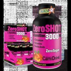 Zero Shot L-Carnitine 3000 Mg 12 Shot
