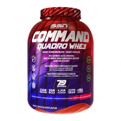 SSN Command Quadro Whey Protein 2370 Gr.