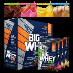 Bigjoy Bigwhey Go Protein 68 Şase Mix Aroma